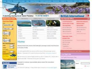 British International Helicopter - Airlines in UK Directory