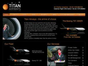 Titan Airways - Airlines in UK Directory