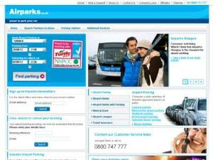 Airparks - Airport Parking UK Directory