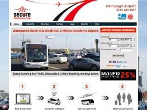 Secure Airparks Edinburgh Airpor - Airport Parking UK Directory