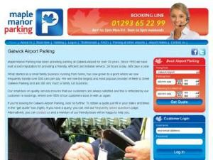 Maple Manor Gatwick Airport Park - Airport Parking UK Directory