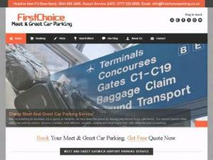 First Choice Gatwick Airport - Airport Parking UK Directory