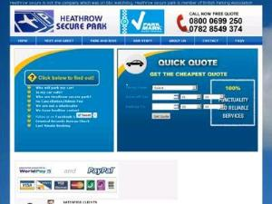 Heathrow Secure Park - Airport Parking UK Companies Directory