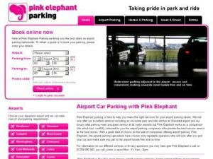 Pink Elephant Car Parking - Airport Parking UK Directory