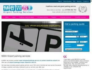 MBW Parking Heathrow - Airport Parking UK Directory