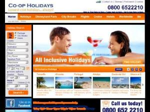 Co-op Holidays - Search results Directory