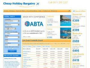 Cheap Holiday Bargains - Search results Directory