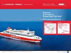 Superfast Ferries - Ferries Directory