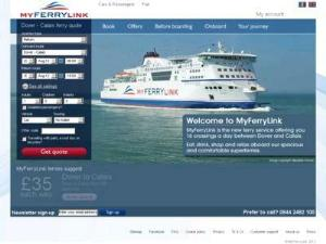 Seafrance MyFerryLink - Ferries Directory