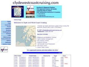 Clyde and West Coast Cruising - Yacht Charter Directory
