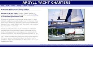 Argyll Yacht Charters - Yacht Charter Directory