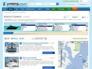 Yumping Yacht Charters - Yacht Charter Directory