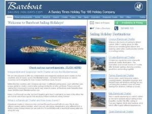Bareboat Sailing Holidays - Search results Directory