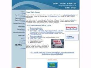 Swan Yacht Charters - Yacht Charter Directory