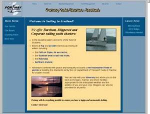 Portway Yacht Charters - Yacht Charter Directory