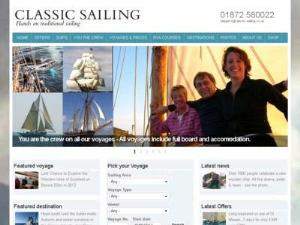 Classic Sailing - Yacht Charter Directory