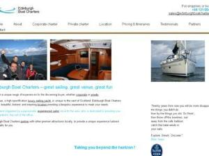 Edinburgh Boat Charters - Yacht Charter Directory