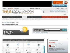 This Is Local London Weather - Weather Directory
