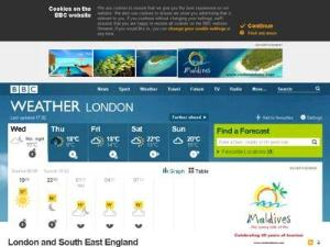 BBC Weather - Weather Directory