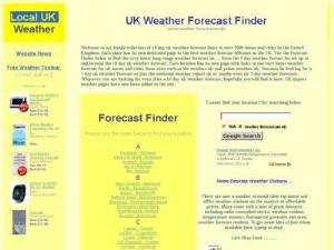 Uk weather forecast - Weather Directory