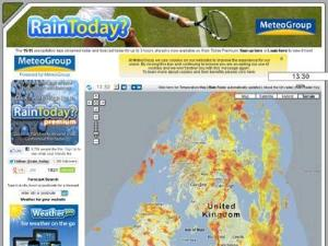 Rain radar for the UK - Weather Directory