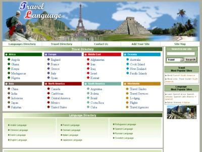 Travel and Language Directory - Search results Directory