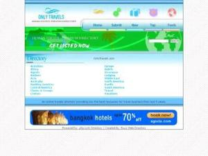 Travels Directory - OnlyTravels - UK Travel Directories Directory