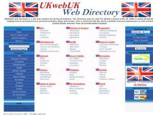 UK Web UK Directory - UK Travel Directories Directory
