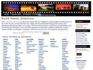 WD Travel Directory - UK Travel Directories Directory