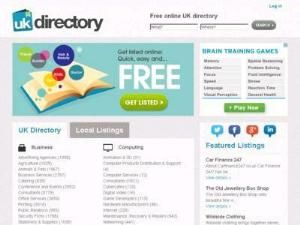 UK Directory Business Directory - UK Travel Directories Companies Directory