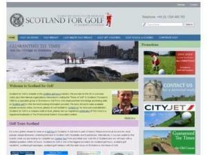 Scotland for Golf - Accommodation in UK Directory