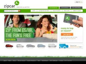 Zipcar - Car Sharing - Car Rental UK Directory