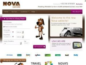 Nova Car Hire - Car Rental UK Directory
