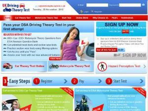 Practice UK Driving Theory Test  - On-line Guides UK Directory