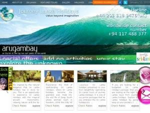 Journey Lanka Holidays - Tour Operators UK Directory