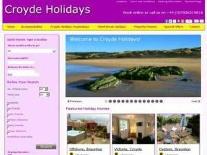 Croyde Holidays  - Accommodation in UK Directory
