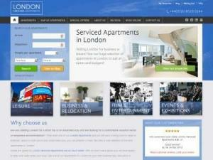 London Serviced Apartments - Accommodation in UK Directory