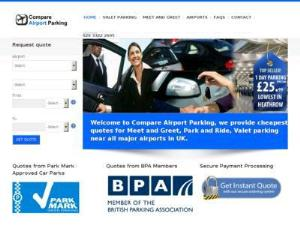 Compare Airport parking prices - Airport Parking UK Directory