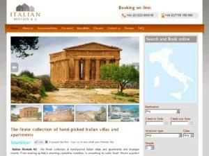 italian rentals - Accommodation in UK Directory