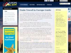 EuropeTrainsGuide.com - Search results Directory
