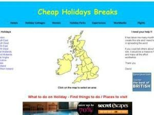 Cheap UK Holiday Breaks - Accommodation in UK Directory