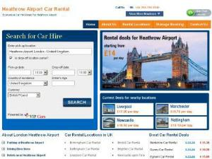 Car Rental Heathrow Airport - Car Rental UK Directory