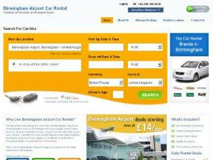 Car Rental Birmingham Airport - Car Rental UK Directory