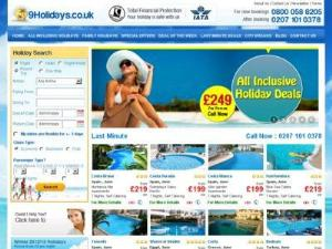 9Holidays - Travel agents UK Directory