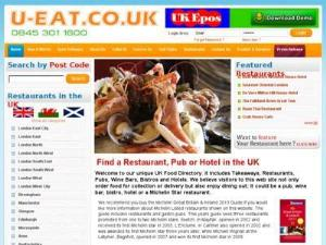 U Eat - Restaurants in UK Directory