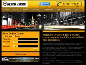 Oxford Taxi - Taxi UK Directory
