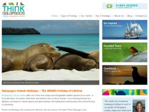 Think Galapagos - Tour Operators UK Directory