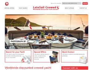 LateSail Crewed Yacht Charters  - Search results Directory