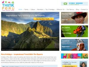 Peru Holiday Specialists - Search results Directory