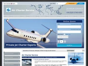 Air Charter Service - Airlines in UK Directory